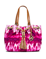 Marina Tie Dye Large Gathered Tote