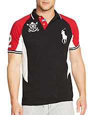 Black Watch Custom-Fit Airflow Jersey Polo Shirt
