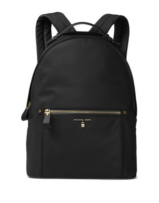 Large Kelsey Nylon Backpack by Michael Michael Kors