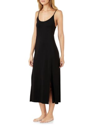 Scoopneck Slip Dress by H Halston