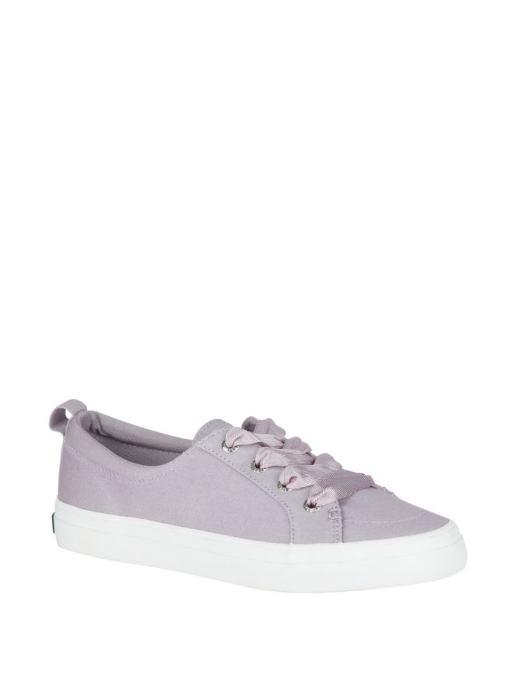 67b44125d90edd Sperry - Crest Vibe Satin Lace Canvas Sneakers - lordandtaylor.com