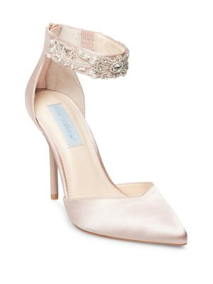 Cali Ankle Strap Pump by Betsey Johnson