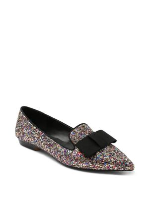 Madeleine Glitter Pointed Toe Flats by Kensie