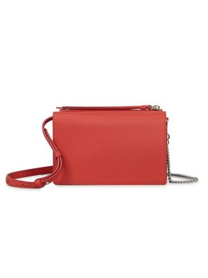 Fetch Leather Chain Crossbody by Allsaints