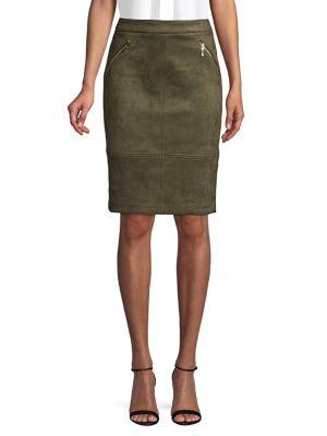 Rosette Pencil Skirt by Ivanka Trump