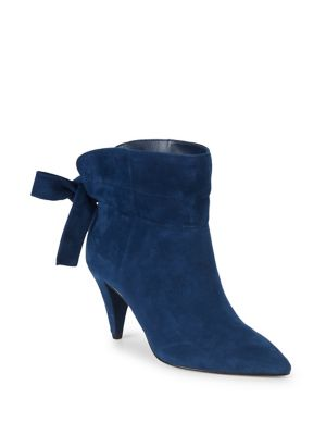 Effie Suede Heeled Booties by Lord & Taylor