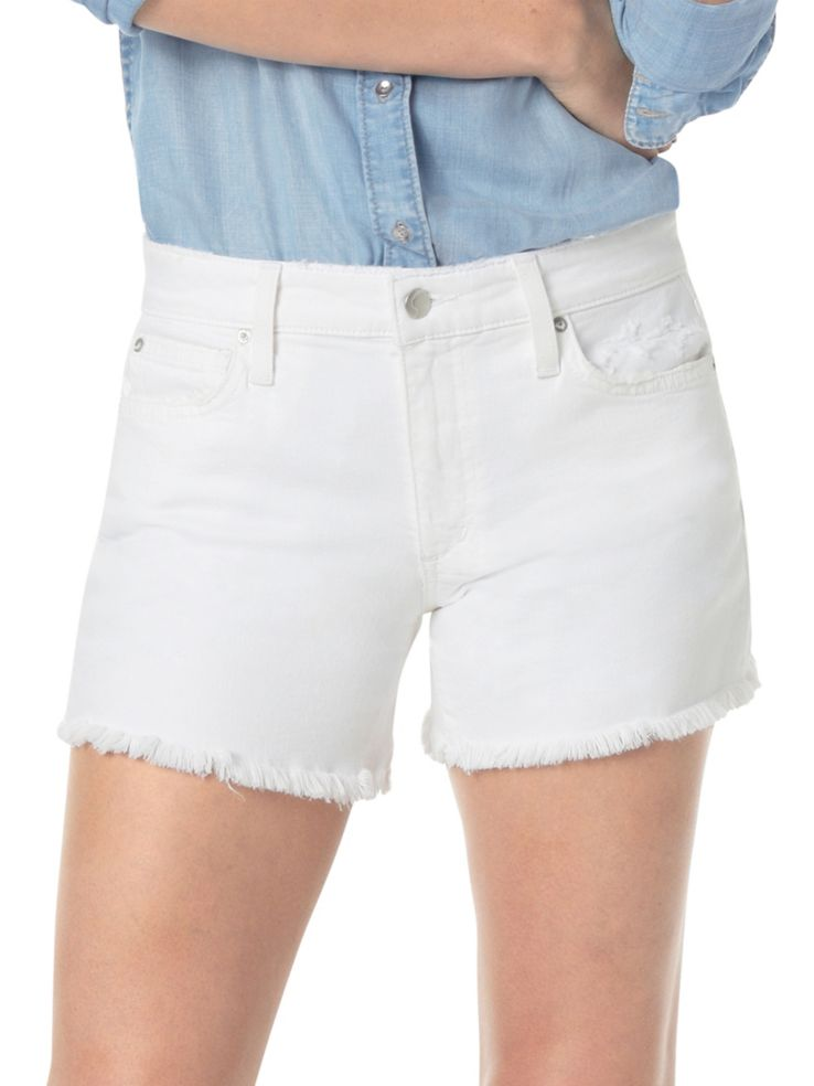 Joe's Jeans The Ozzie Cut Off Frayed Hem Denim Shorts in