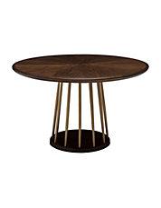 table de salle manger ronde lafitte fabrique par thomasville