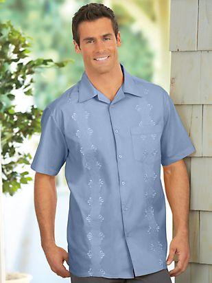 1950s Style Mens Shirts Double Dapper Camp Shirt $14.99 AT vintagedancer.com