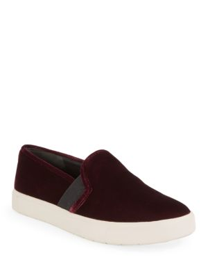 Blair 12 Velvet Slip On Sneakers by Vince