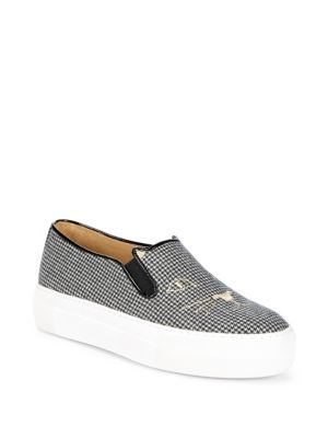 Leopard Print Platform Sneakers by Charlotte Olympia