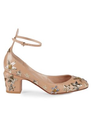Tango Sequined Pumps by Valentino Garavani