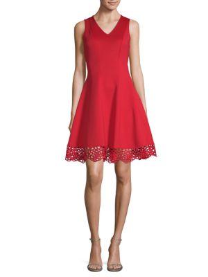 Sleeveless A Line Dress by Donna Ricco