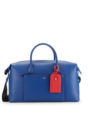 Mens Leather Duffel Bag by Cavalli Class