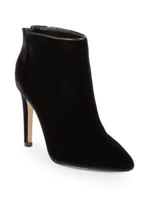 Melyssa Velvet Ankle Boots by Ava & Aiden