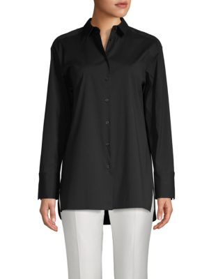 Dannell Long Sleeve Shirt by Lafayette 148 New York