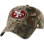 San Francisco 49ers Realtree Camo Clean Up Cap at Legendary Whitetails