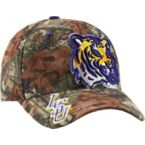 Men's Mossy Oak Camo Double Barrel Collegiate Caps at Legendary Whitetails