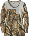 Ladies Late Season Big Game Camo Pocket Tunic at Legendary Whitetails