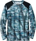 Mens Crystal Bay L/S Performance Tee at Legendary Whitetails