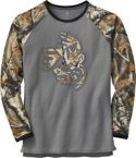 Men's Outfitter Big Game Camo Long Sleeve T-Shirt at Legendary Whitetails