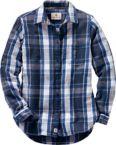 Ladies Sterling Ridge Plaid Shirt at Legendary Whitetails