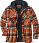 Men's Maplewood Hooded Flannel Shirt Jacket at Legendary Whitetails