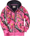 Womens Hideaway Realtree AP Pink Camo Hoodie at Legendary Whitetails