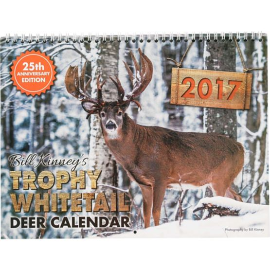Hunter's Edition 2017 Whitetail Calendar at Legendary Whitetails