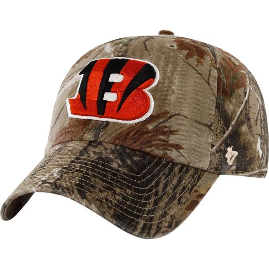 Cincinnati Bengals Realtree Camo Clean Up Cap at Legendary Whitetails