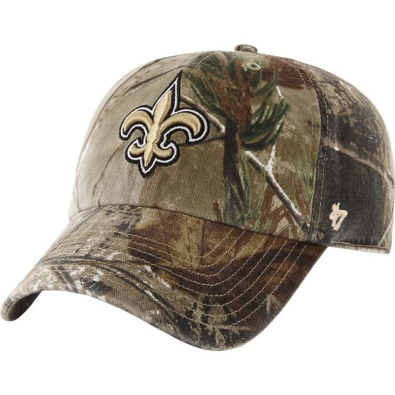 New Orleans Saints Realtree Camo Clean Up Cap at Legendary Whitetails