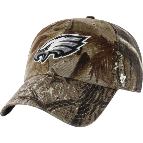 Philadelphia Eagles Realtree Camo Clean Up Cap at Legendary Whitetails