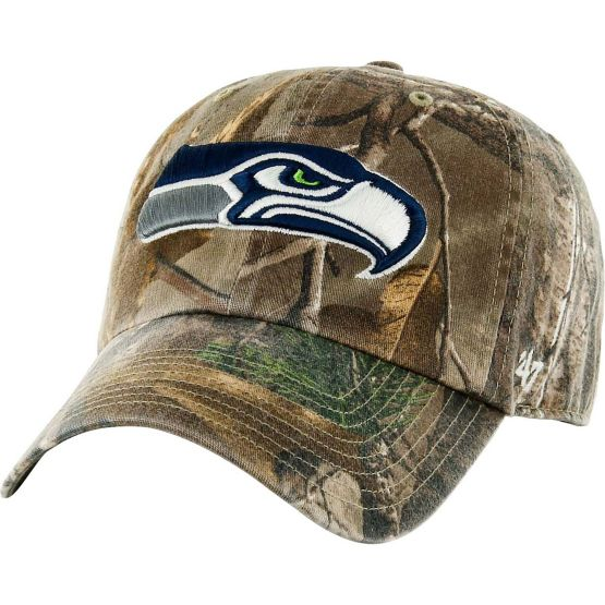 Seattle Seahawks Realtree Camo Clean Up Cap at Legendary Whitetails