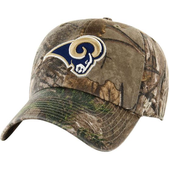 Los Angeles Rams Realtree Camo Clean Up Cap at Legendary Whitetails