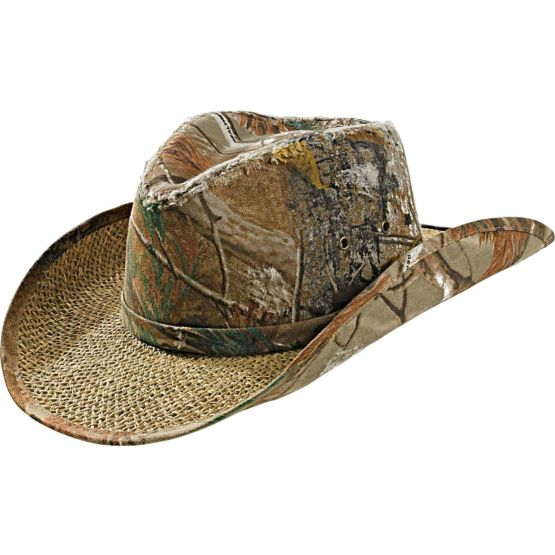 Men's Realtree Camo Timber Rattler Cowboy Hat at Legendary Whitetails