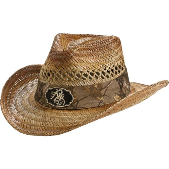 Men's Realtree Camo Buckwild Cowboy Hat at Legendary Whitetails