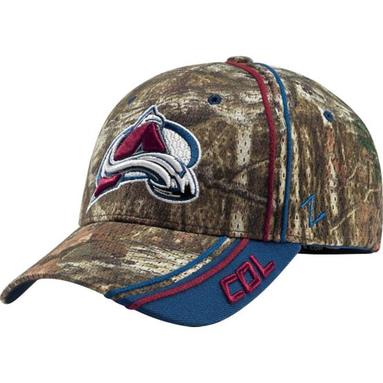 Colorado Avalanche Mossy Oak Camo NHL Slash Cap at Legendary Whitetails