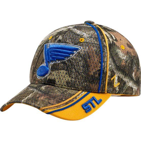 St. Louis Blues Mossy Oak Camo NHL Slash Cap at Legendary Whitetails