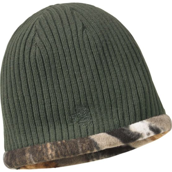 Men's Trophy Buck Reversible Knit Camo Hat at Legendary Whitetails