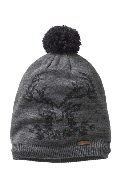 Women's Charcoal Buck Beanie at Legendary Whitetails