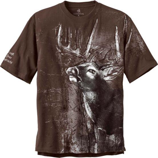 Men's  Instincts Short Sleeve Cotton T-Shirt at Legendary Whitetails