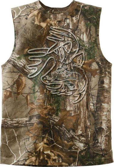 Men's Realtree Sleeveless Sniper T-Shirt at Legendary Whitetails