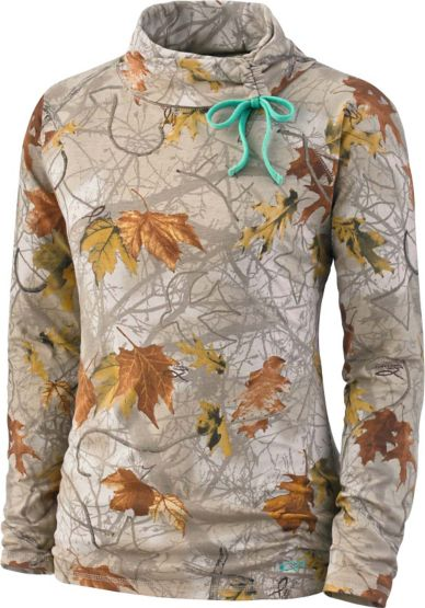 Women's Moon Phase God's Country Camo Turtle Neck at Legendary Whitetails