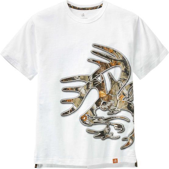 Men's Wild Buck Big Game Camo T-Shirt at Legendary Whitetails