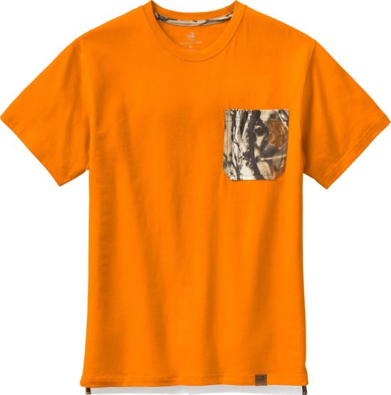 Men's Huntsman Camo Pocket Workwear T-Shirt at Legendary Whitetails