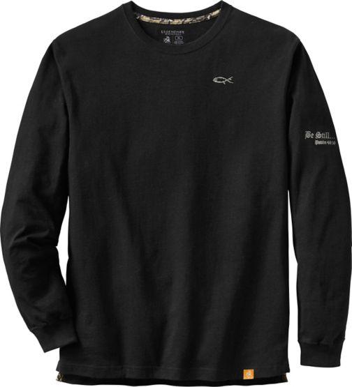 Men's Be Still Long Sleeve T-Shirt at Legendary Whitetails