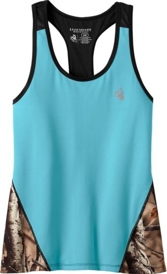 Ladies Legacy Big Game Camo Performance Tank at Legendary Whitetails