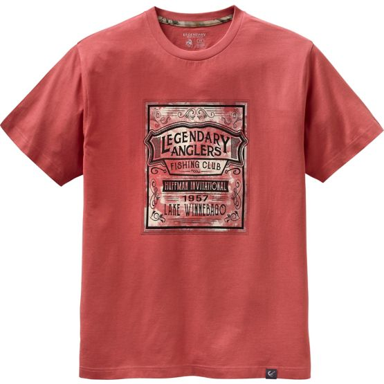Men's Vintage Fishing Club Short Sleeve T-Shirt at Legendary Whitetails