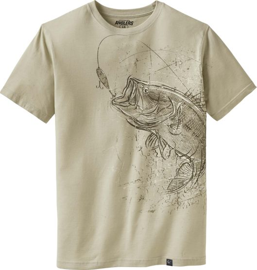 Men's Striking Bass Short Sleeve T-Shirt at Legendary Whitetails