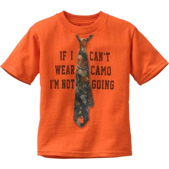 Toddler Boys I'm Not Going Short Sleeve Tee at Legendary Whitetails